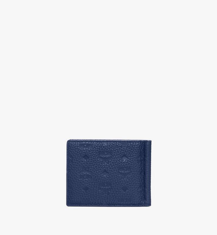 MCM Tivitat Money Clip Wallet in Monogram Leather  MXC9ABT24VA001 Alternate View 2