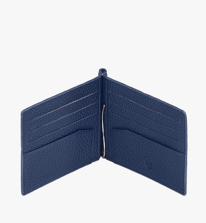 MCM Tivitat Money Clip Wallet in Monogram Leather  MXC9ABT24VA001 Alternate View 3