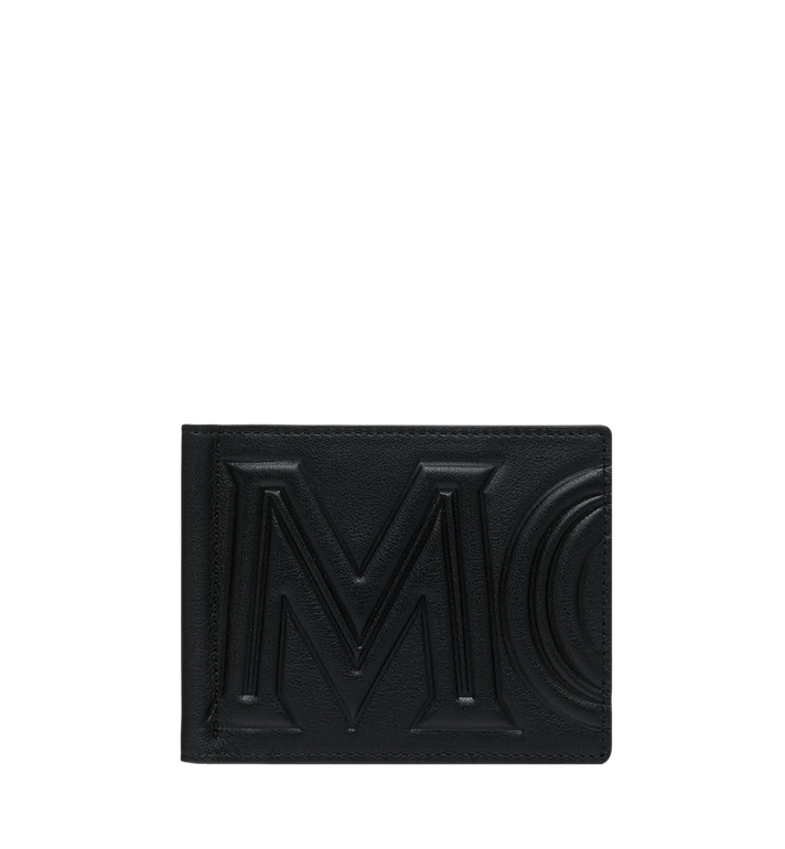 MCM Money Clip Wallet in MCM Injection Logo Alternate View