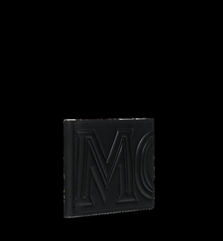 MCM MCM 인젝션 로고 머니클립 반지갑 Black MXC9SCL03BK001 Alternate View 2