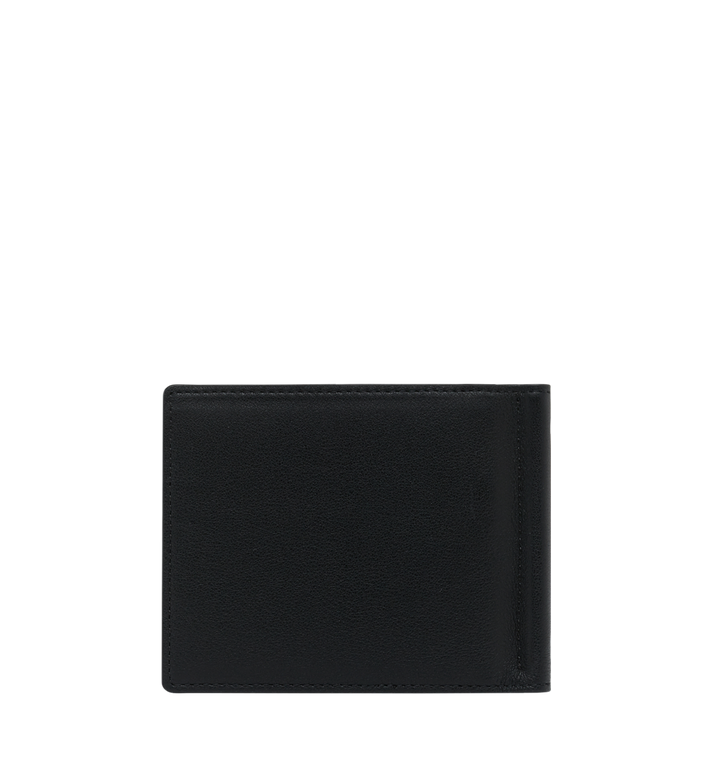MCM Money Clip Wallet in MCM Injection Logo Black MXC9SCL03BK001 Alternate View 3