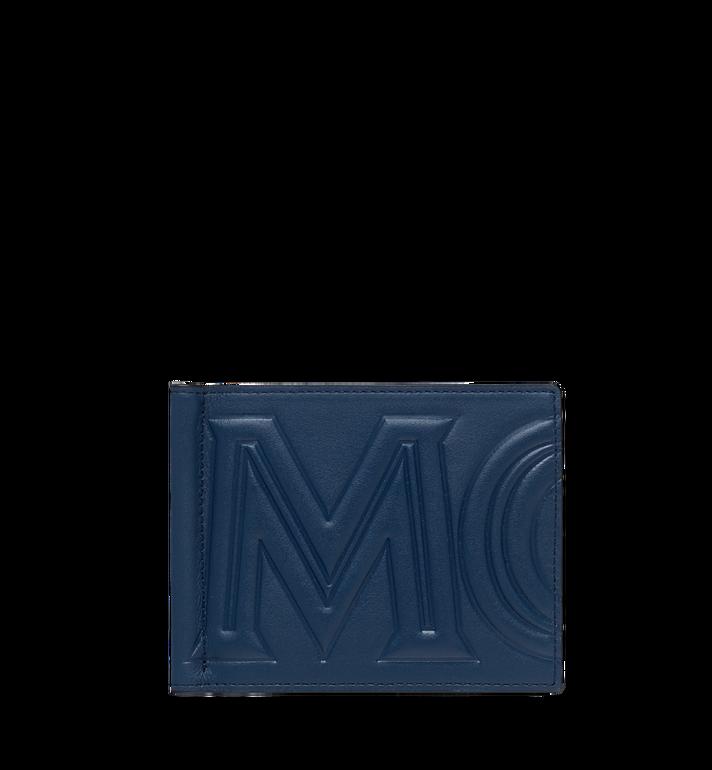 MCM Portefeuille avec pince à billets en MCM Injection Logo Alternate View