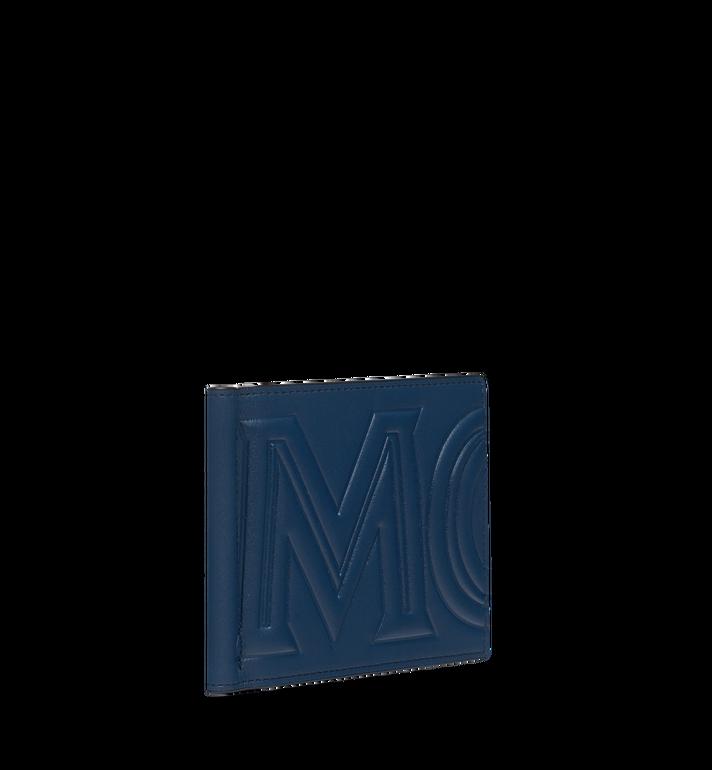 MCM Portefeuille avec pince à billets en MCM Injection Logo Navy MXC9SCL03VA001 Alternate View 2