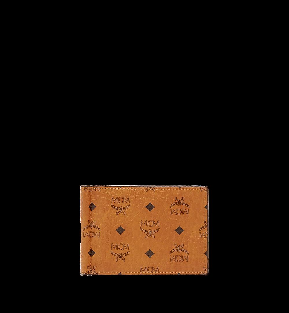 MCM Brieftasche mit Geldscheinklammer in Visetos Original Cognac MXCAAVI01CO001 Noch mehr sehen 1