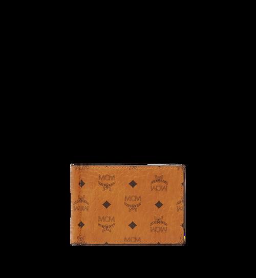 Brieftasche mit Geldscheinklammer in Visetos Original