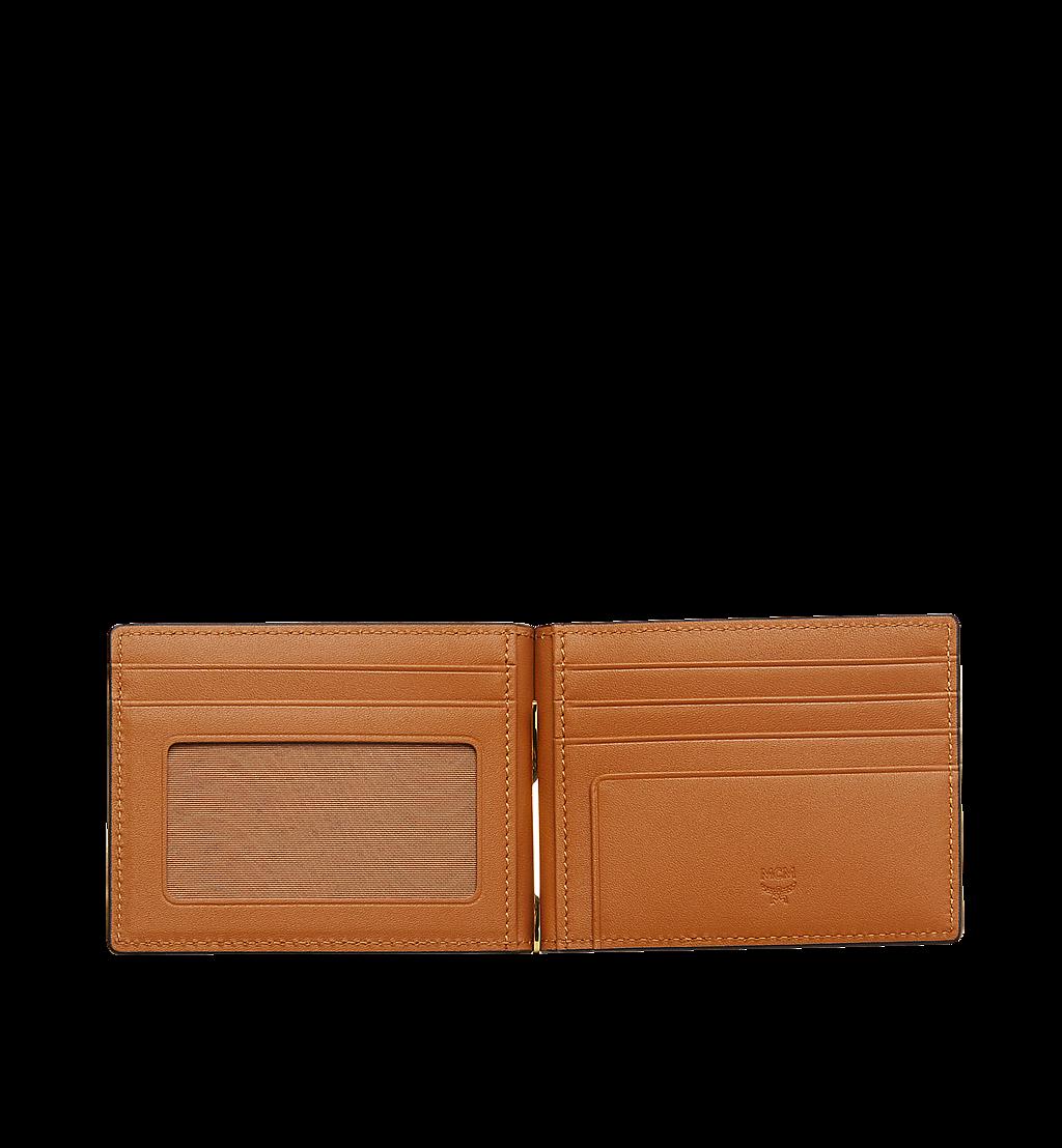 MCM Brieftasche mit Geldscheinklammer in Visetos Original Cognac MXCAAVI01CO001 Noch mehr sehen 3