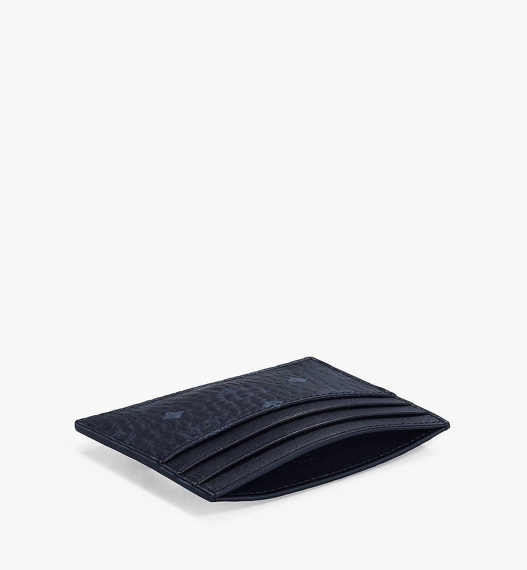MCM Kartenetui mit Geldscheinklammer in Visetos Original Black MXCAAVI02BK001 Noch mehr sehen 2