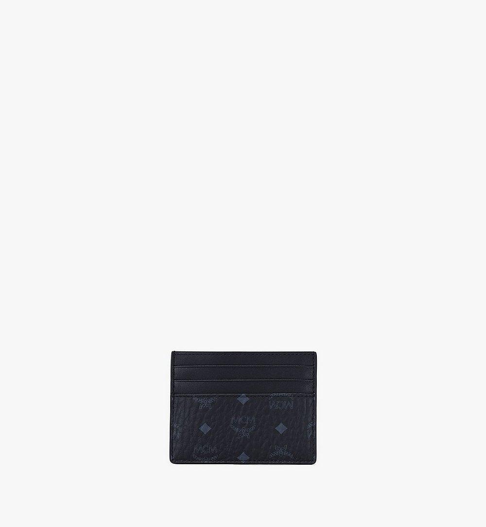 MCM Kartenetui mit Geldscheinklammer in Visetos Original Black MXCAAVI02BK001 Noch mehr sehen 3