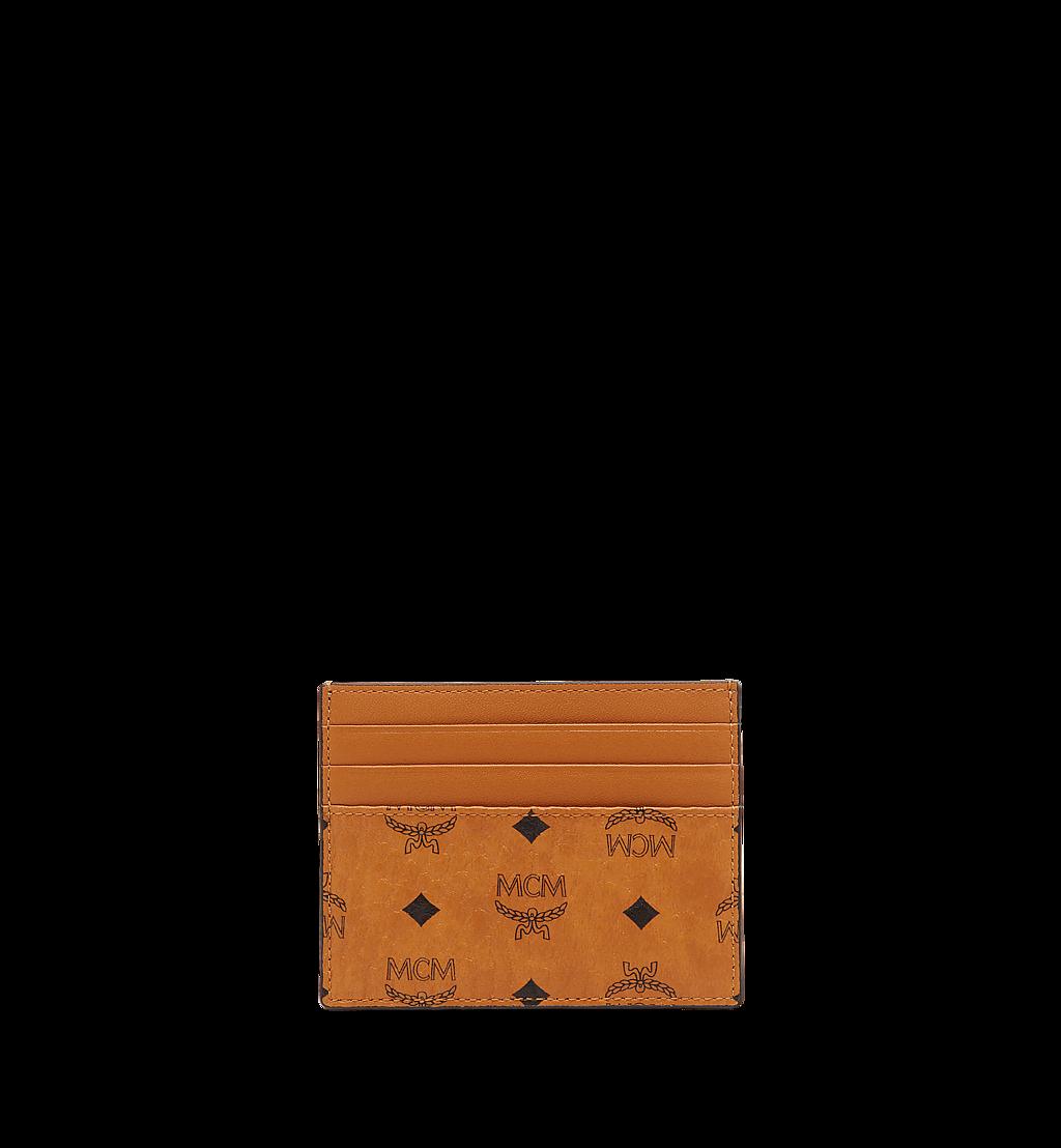 MCM Kartenetui mit Geldscheinklammer in Visetos Original Cognac MXCAAVI02CO001 Noch mehr sehen 2