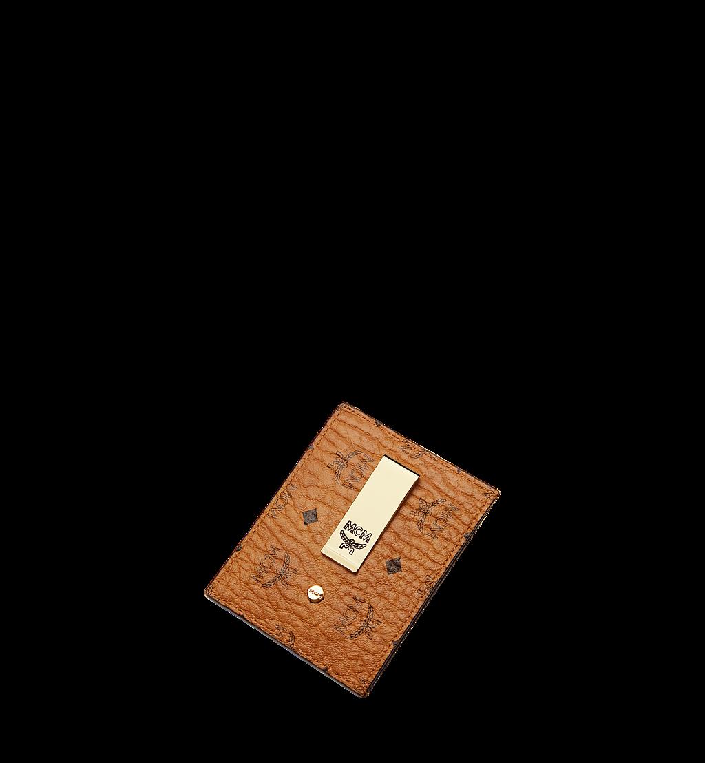 MCM Kartenetui mit Geldscheinklammer in Visetos Original Cognac MXCAAVI02CO001 Noch mehr sehen 3