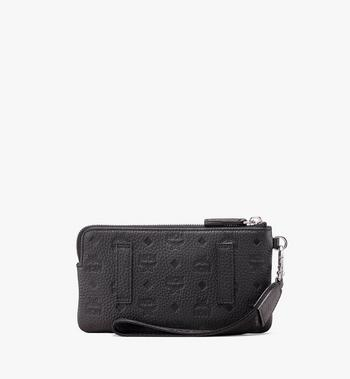 MCM Tivitat Tech Pouch in Monogram Leather Alternate View 2