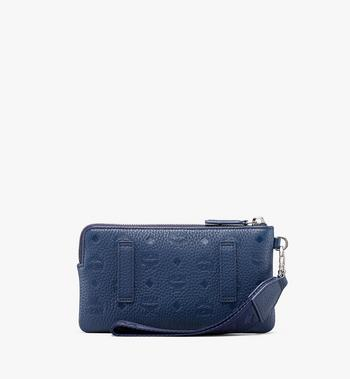 MCM Tech Pouch in Tivitat Leather Alternate View 2