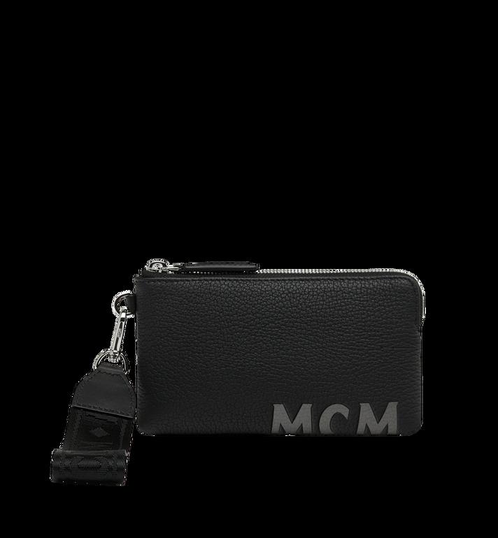 MCM Beutel für Elektrogeräte aus Leder mit Logo-Print Alternate View