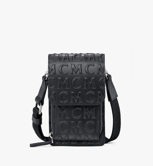 Crossbody Phone Case in MCM Monogram Leather