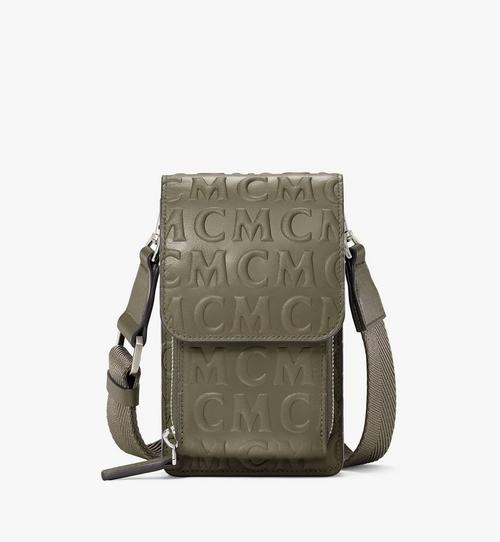 Crossbody Phone Case in MCM Monogram Leather