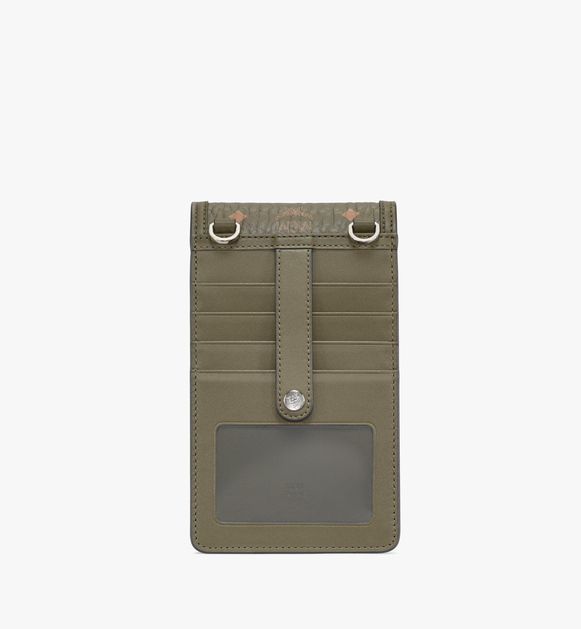 MCM Visetos Original 系列斜背手機殼 Green MXEAAVI02JH001 更多視圖 2