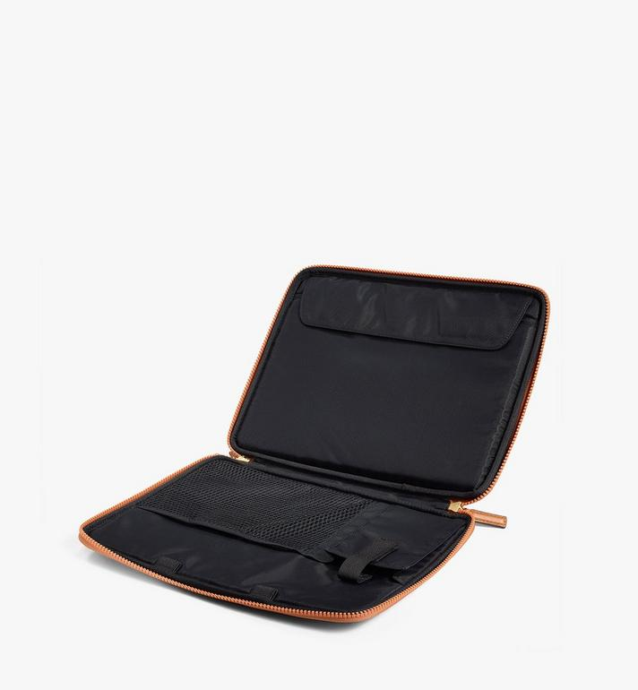 "MCM 13"" iPad Case in Visetos Original Cognac MXEAAVI03CO001 Alternate View 3"