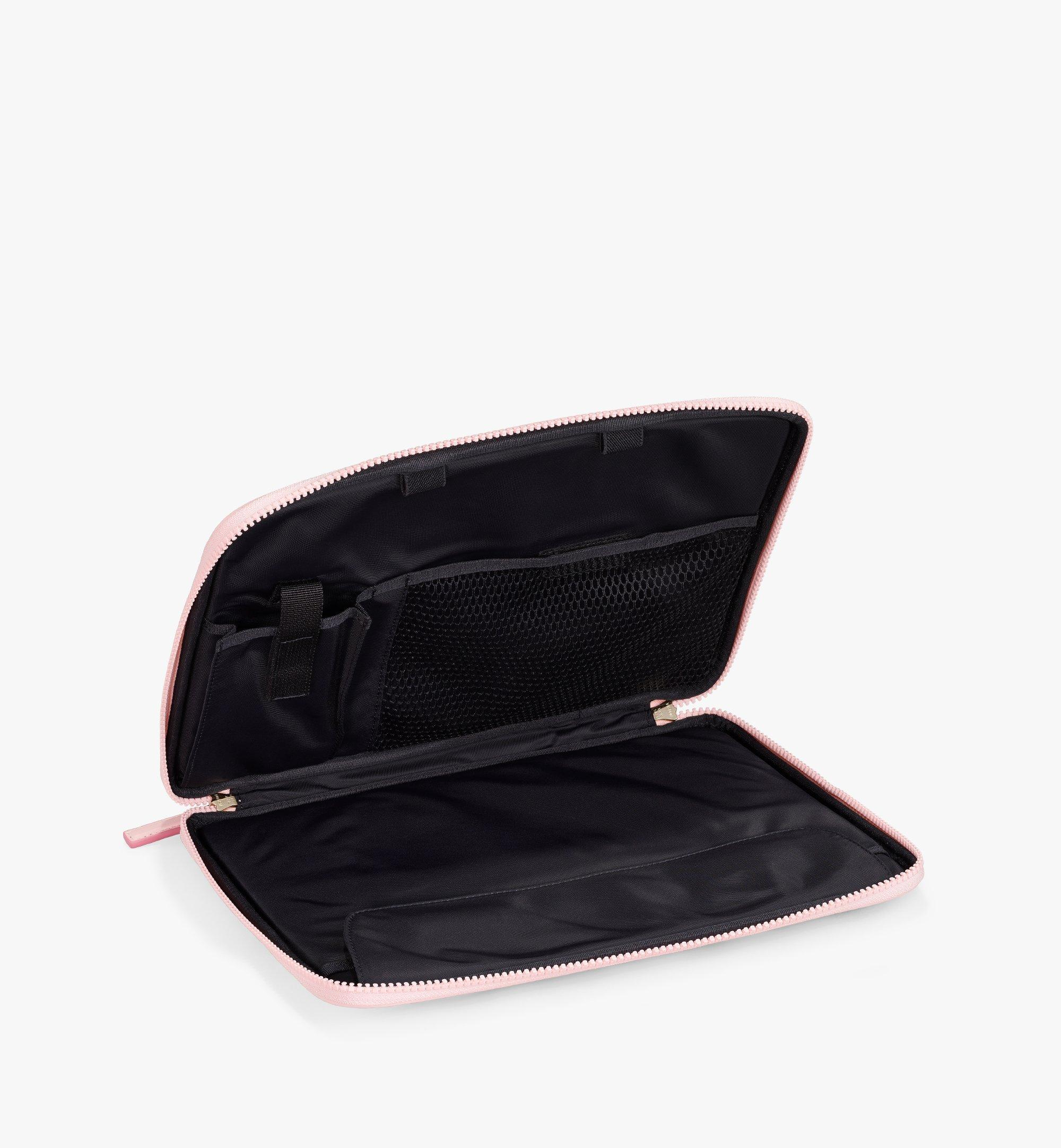 "MCM 13"" iPad Case in Visetos Original Pink MXEAAVI03QH001 Alternate View 2"