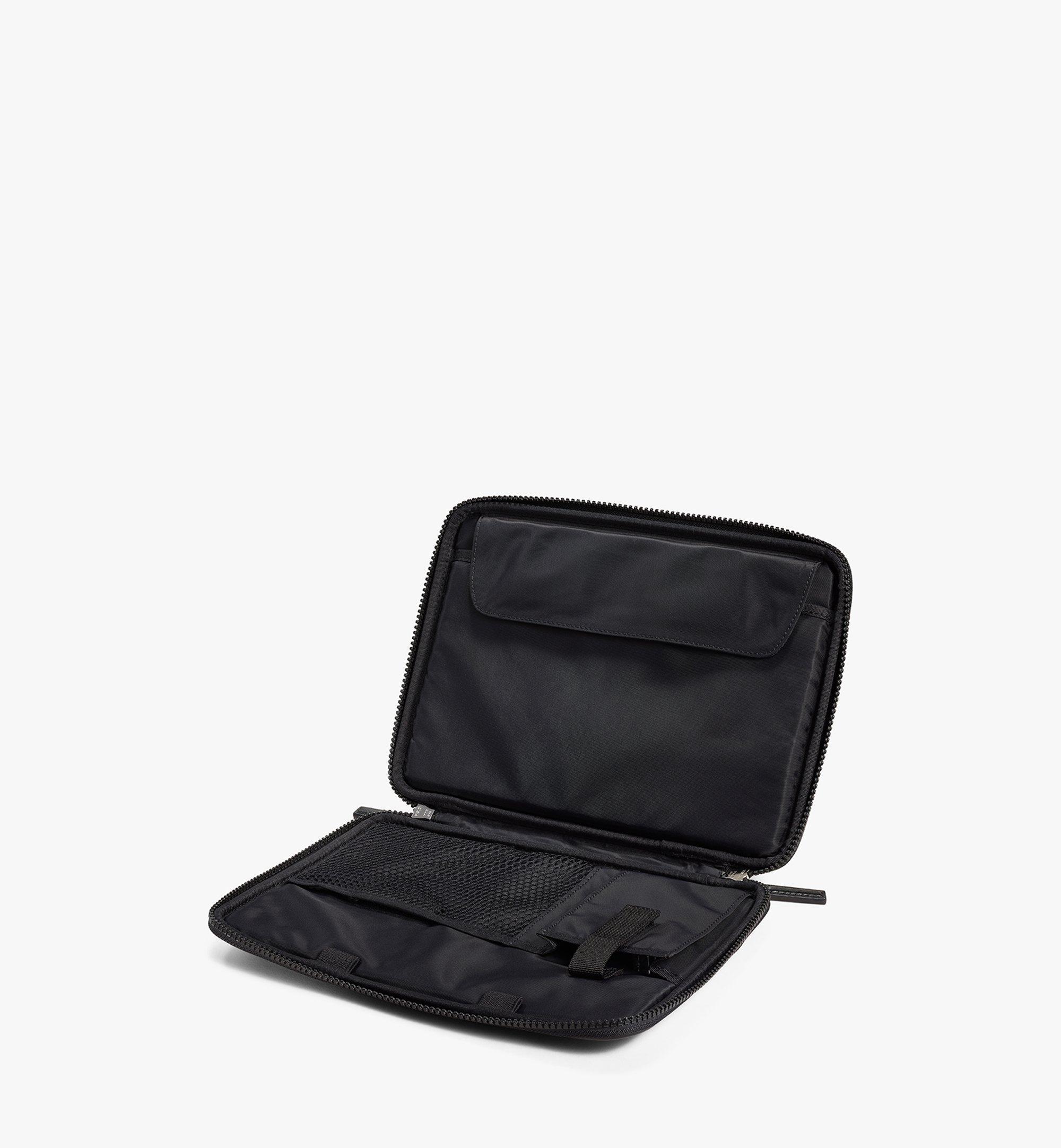 """MCM 11"""" iPad Case in Visetos Original Black MXEAAVI04BK001 Alternate View 2"""