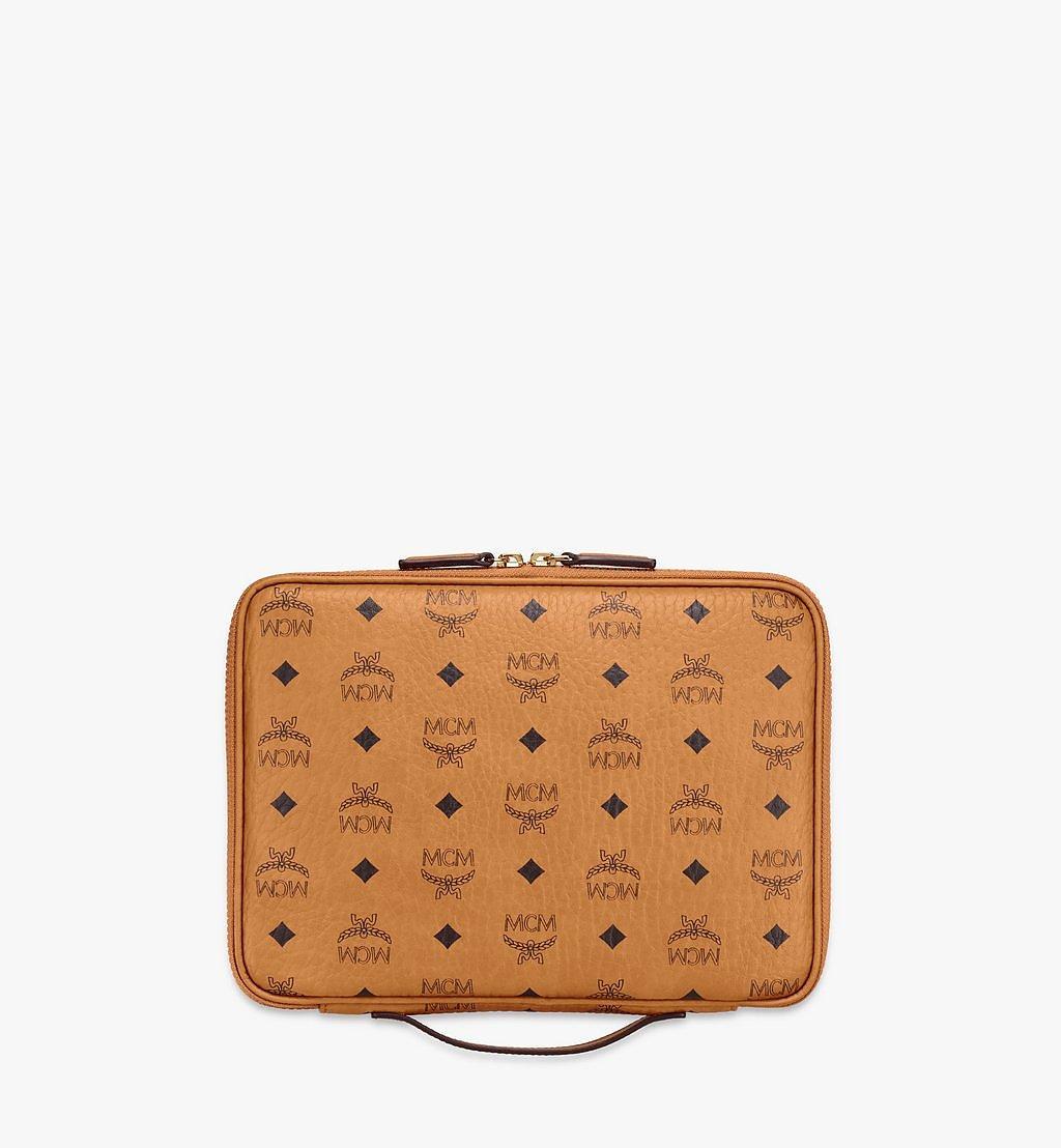 MCM 11-Zoll-iPad-Hülle in Visetos Original Cognac MXEAAVI04CO001 Noch mehr sehen 2