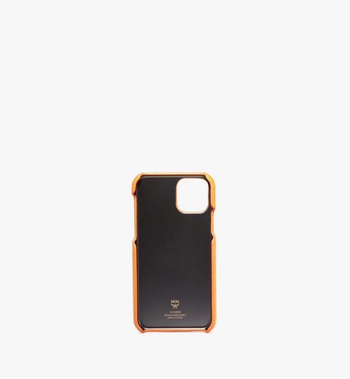MCM iPhone 11 Pro Case in Visetos Original Orange MXEAAVI05O5001 Alternate View 2