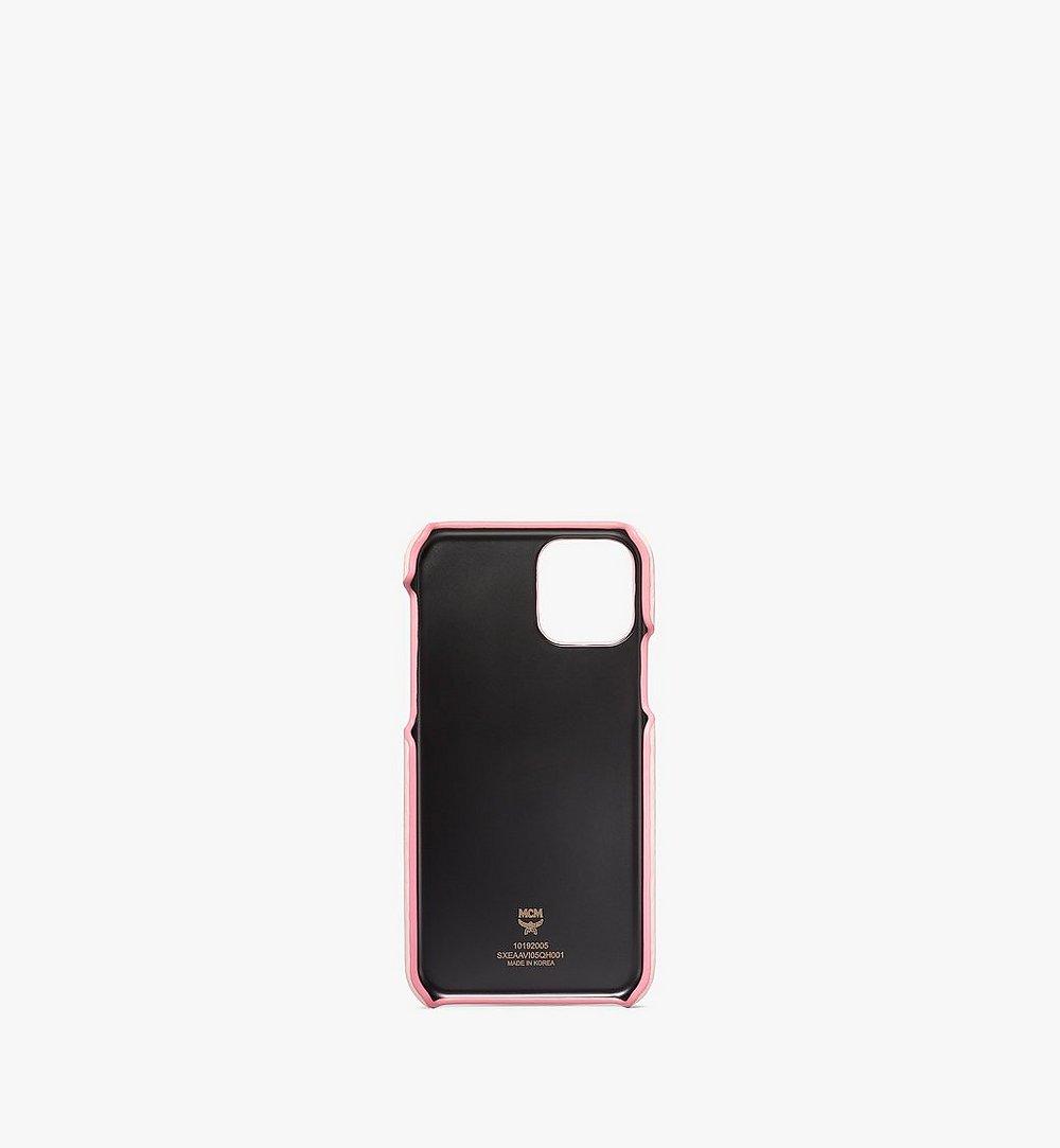 MCM iPhone 11 Pro Case in Visetos Original Pink MXEAAVI05QH001 Alternate View 1