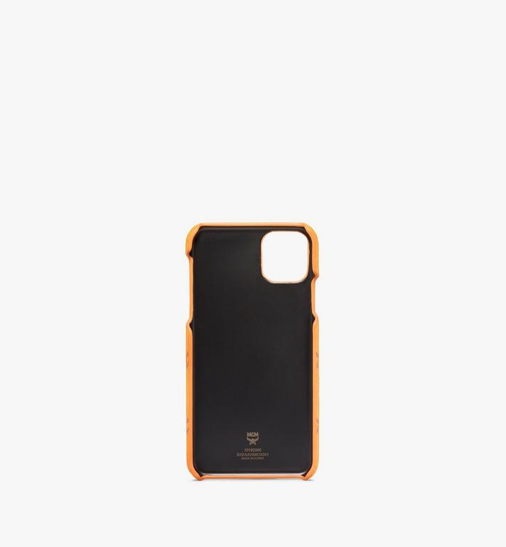 MCM iPhone 11 Pro Max Case in Visetos Original Orange MXEAAVI06O5001 Alternate View 2