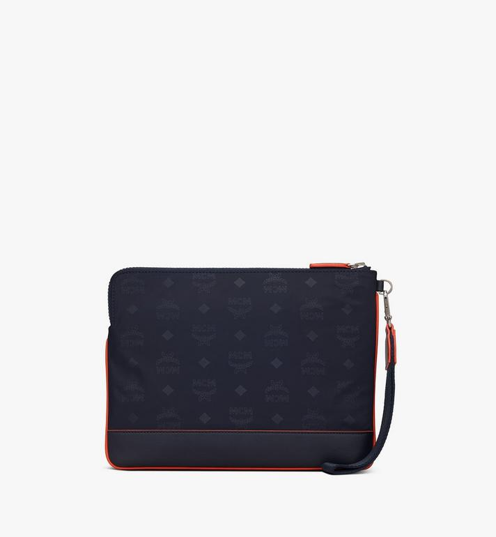MCM Klassik Tablet Cover in Monogram Nylon Alternate View