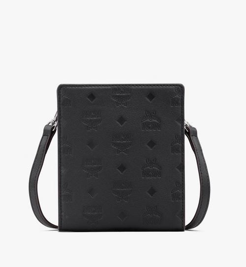 Klara Lanyard Card Holder in Monogram Leather