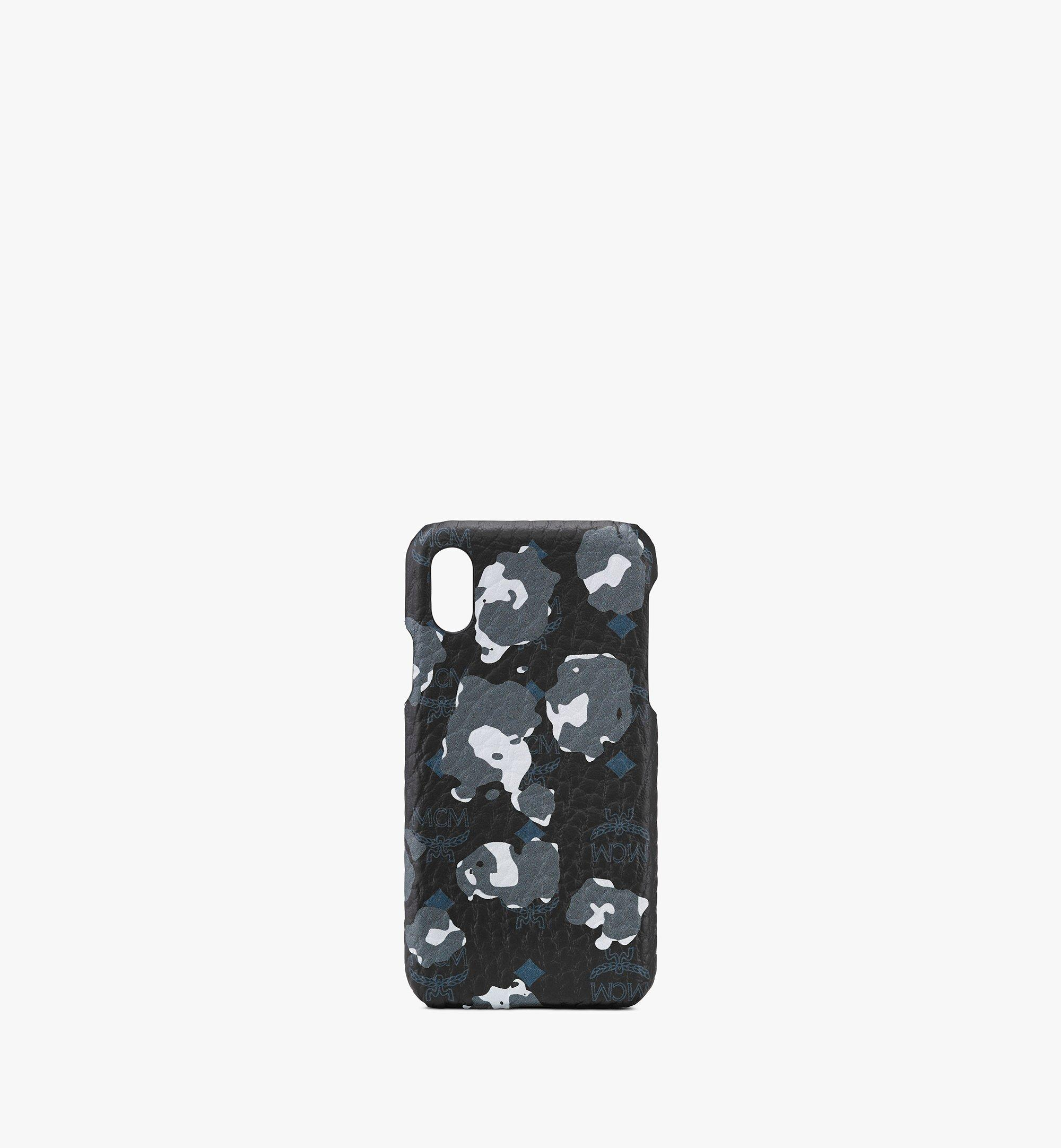 MCM 플로럴 레오파드 아이폰 케이스 Black MXEASLF01B1001 Alternate View 1
