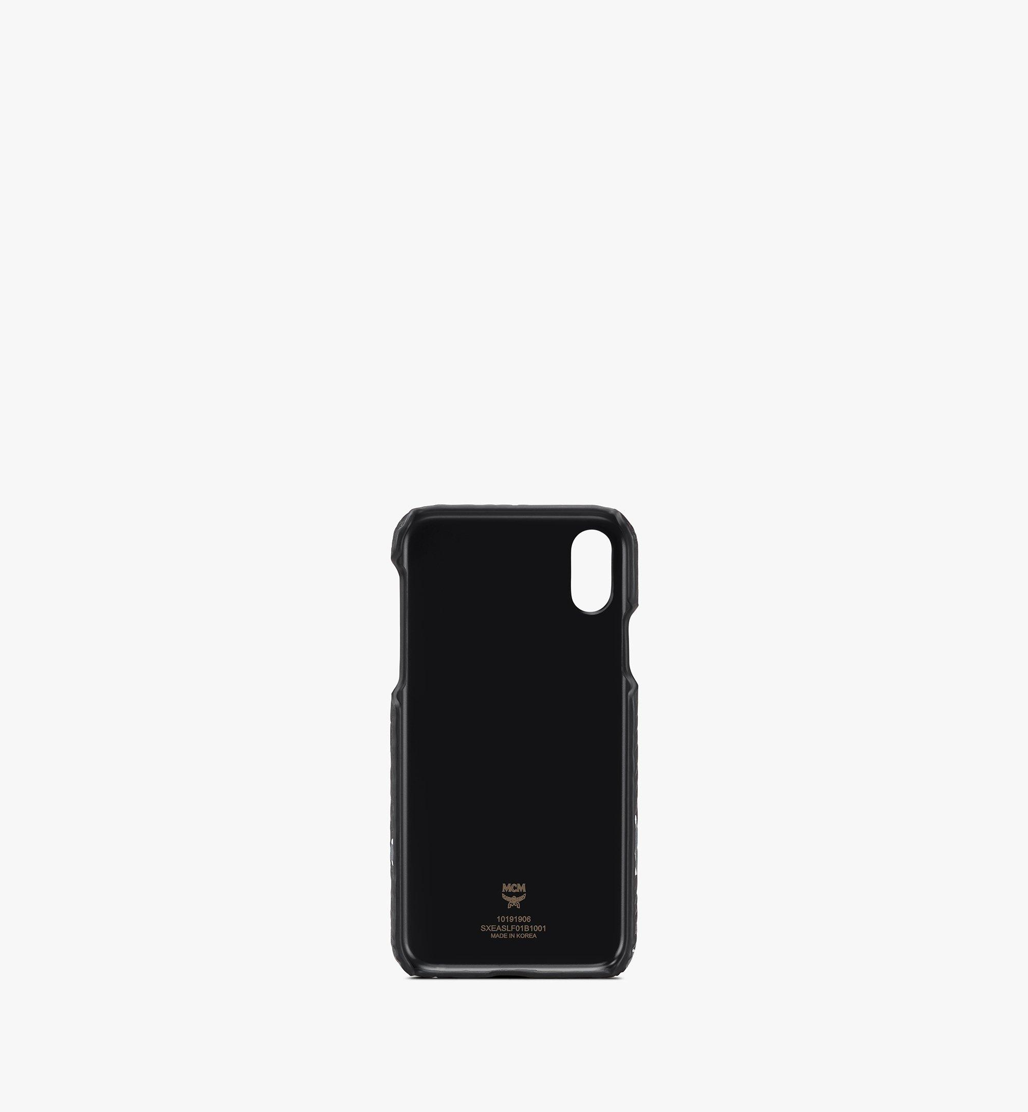 MCM 플로럴 레오파드 아이폰 케이스 Black MXEASLF01B1001 Alternate View 2