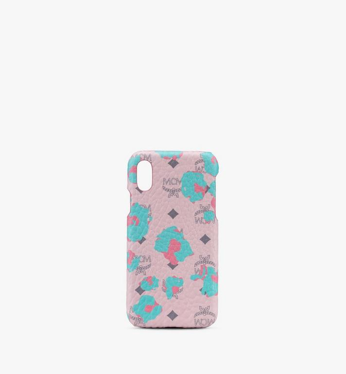 MCM iPhone Case in Floral Leopard Alternate View