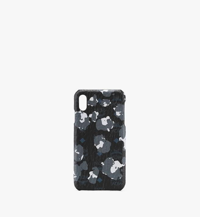 MCM iPhone XS Max Case in Floral Leopard Alternate View