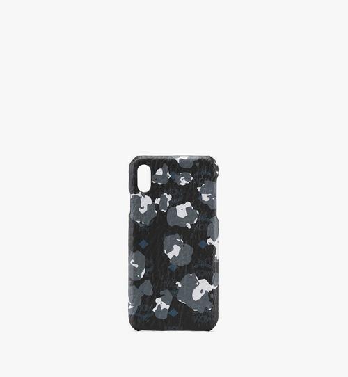 iPhone XS Max ケース - フローラルレオパード