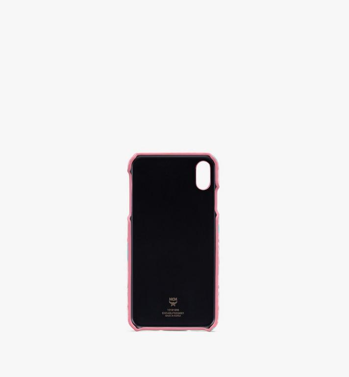MCM iPhone XS Max ケース - フローラルレオパード Pink MXEASLF02QI001 Alternate View 2