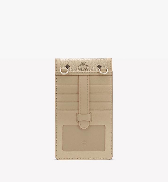 MCM クロスボディ スマートフォンケース - ヴィセトス Gold MXEASVI03T1001 Alternate View 3