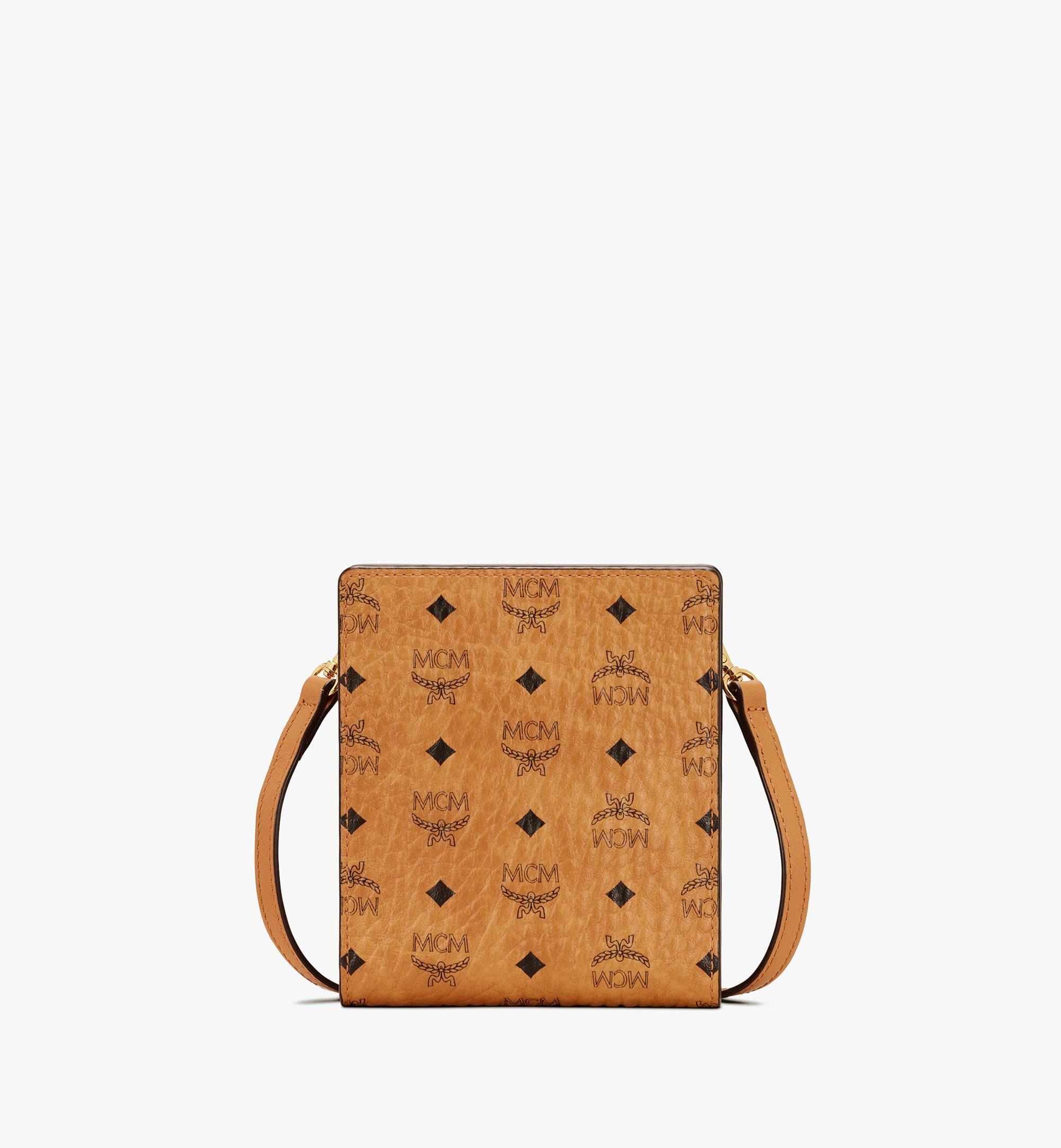 MCM 비세토스 다기능 랜야드 Cognac MXEASVI04CO001 Alternate View 1