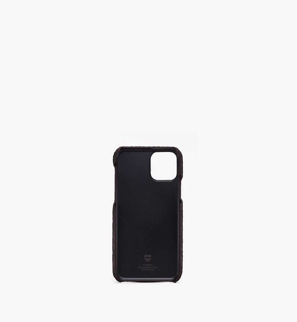 MCM iPhone 11 Pro Case in Visetos  MXEASVI07BK001 Alternate View 1