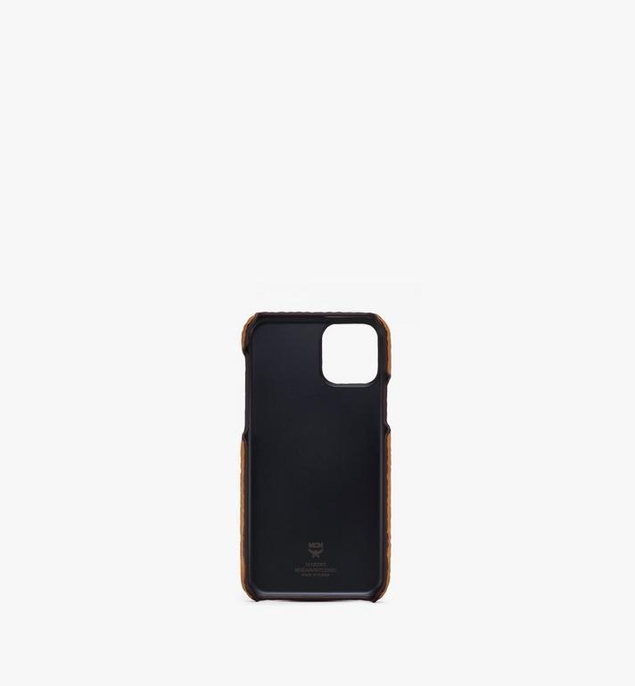 MCM iPhone 11 Pro Case in Visetos Cognac MXEASVI07CO001 Alternate View 2