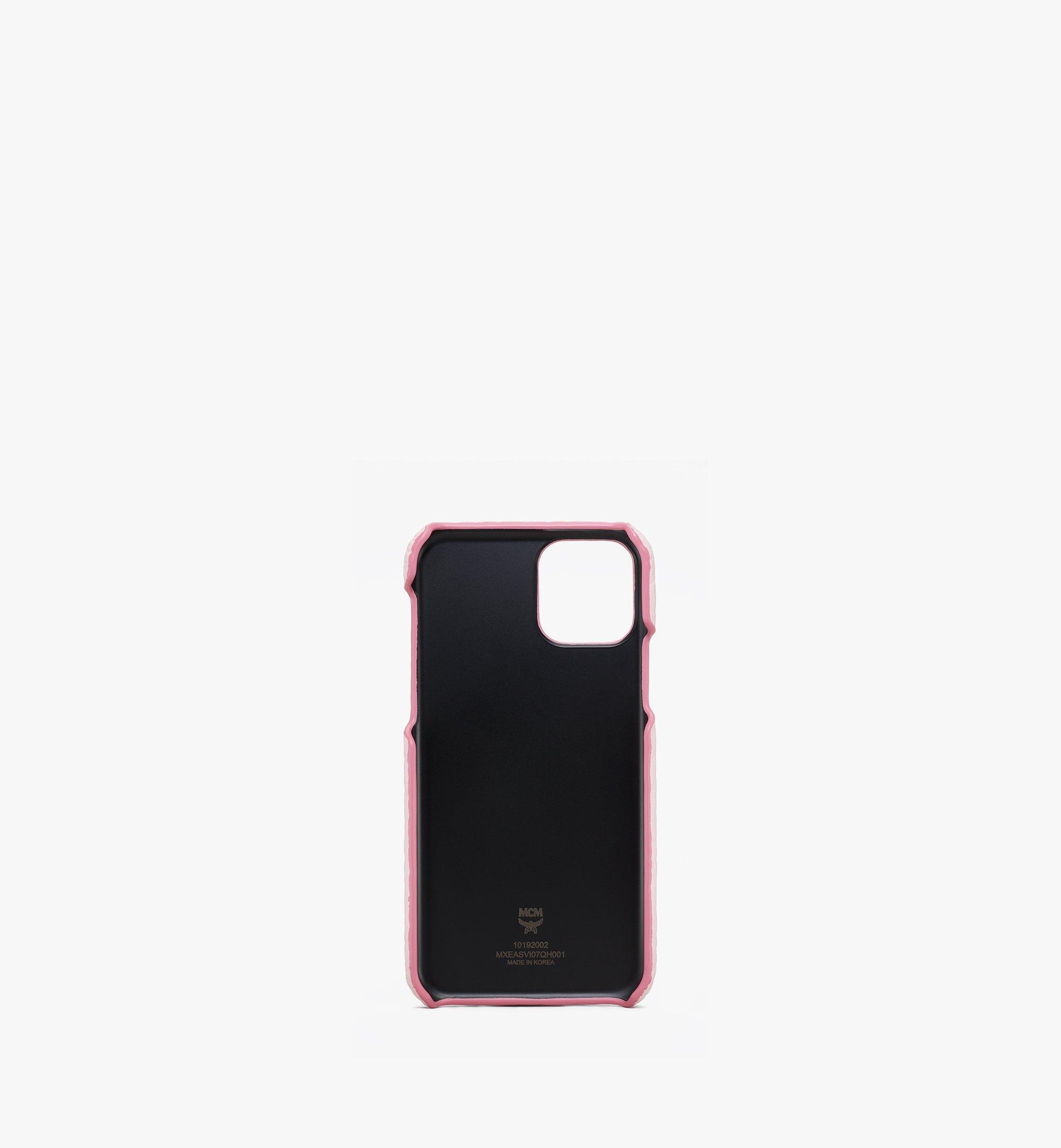 MCM iPhone 11 Pro Case in Visetos Pink MXEASVI07QH001 Alternate View 1