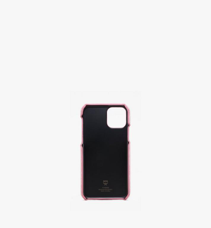 MCM iPhone 11 Pro Case in Visetos Pink MXEASVI07QH001 Alternate View 2
