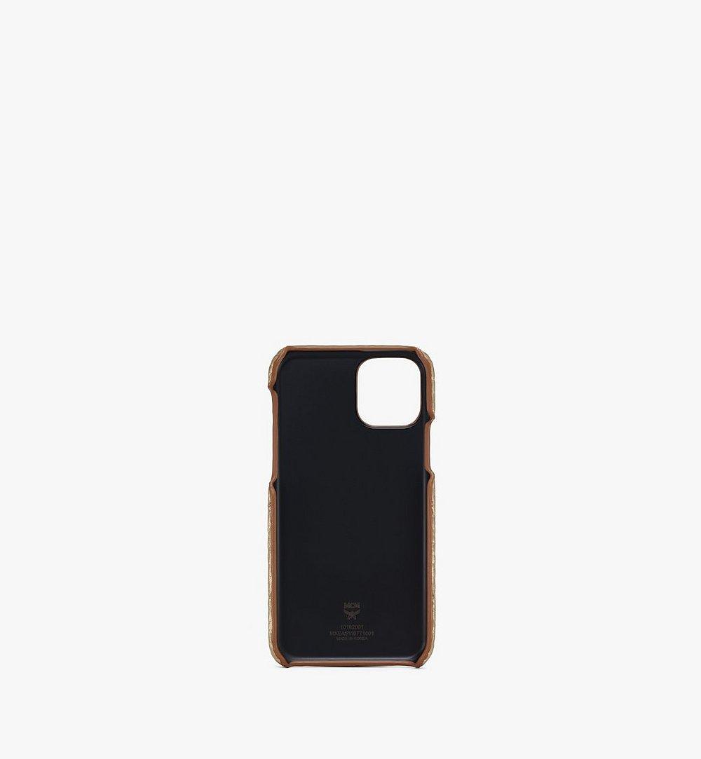 MCM iPhone 11 Pro Case in Visetos Gold MXEASVI07T1001 Alternate View 1