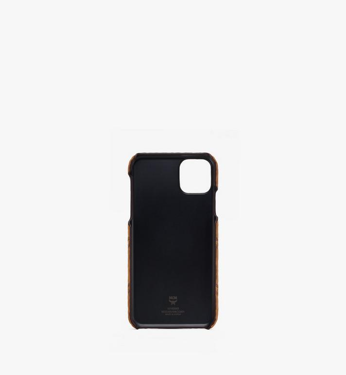 MCM iPhone 11 Pro Max ケース - ヴィセトス Cognac MXEASVI08CO001 Alternate View 2