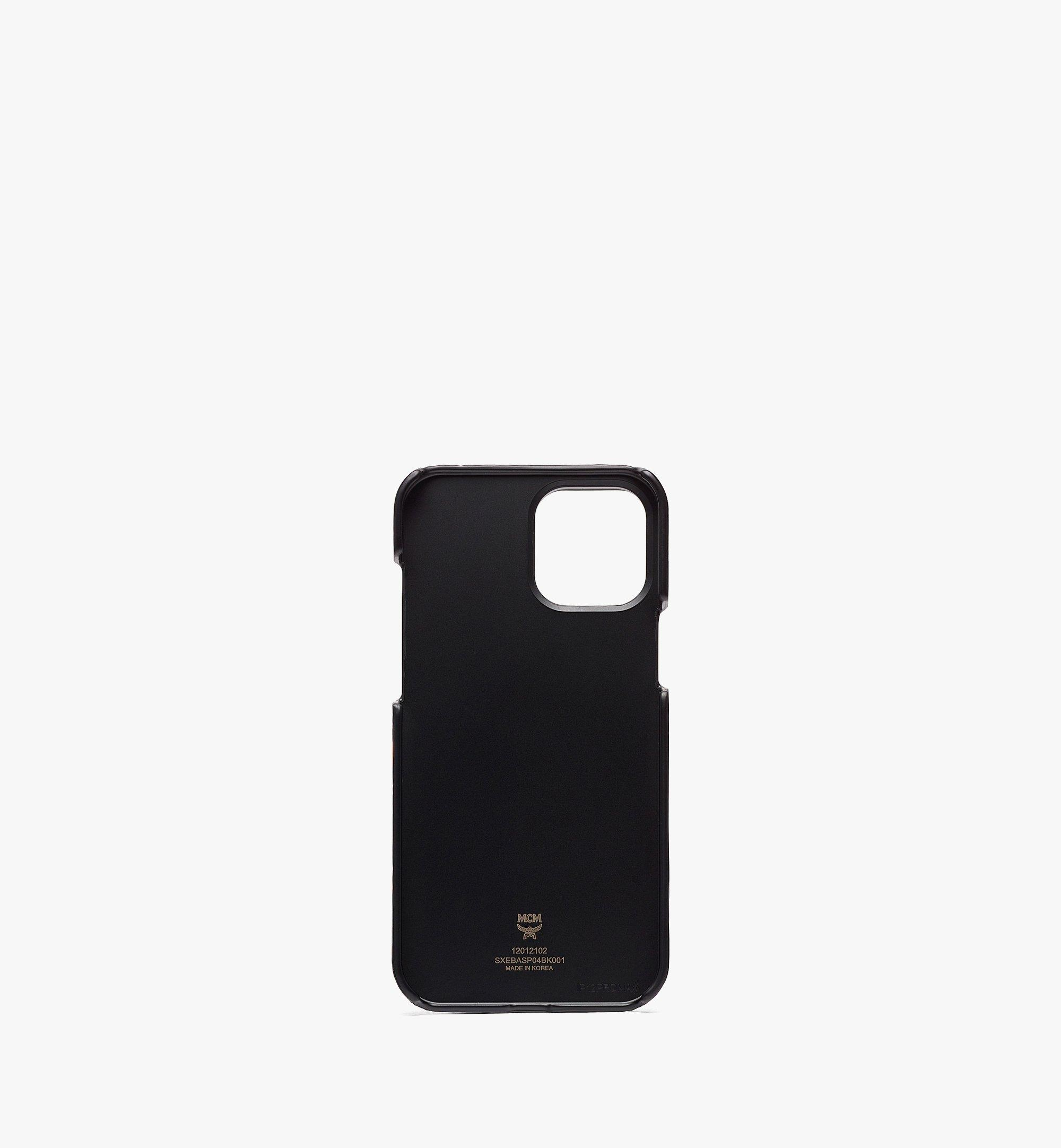 MCM MCM x SAMBYPEN iPhone 12 Pro Max 手機保護套 Black MXEBASP04BK001 更多視圖 1