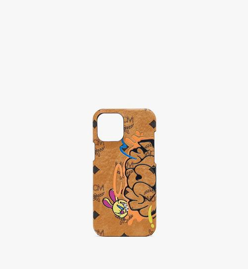 MCM x SAMBYPEN iPhone 12 Pro Max Case in Visetos