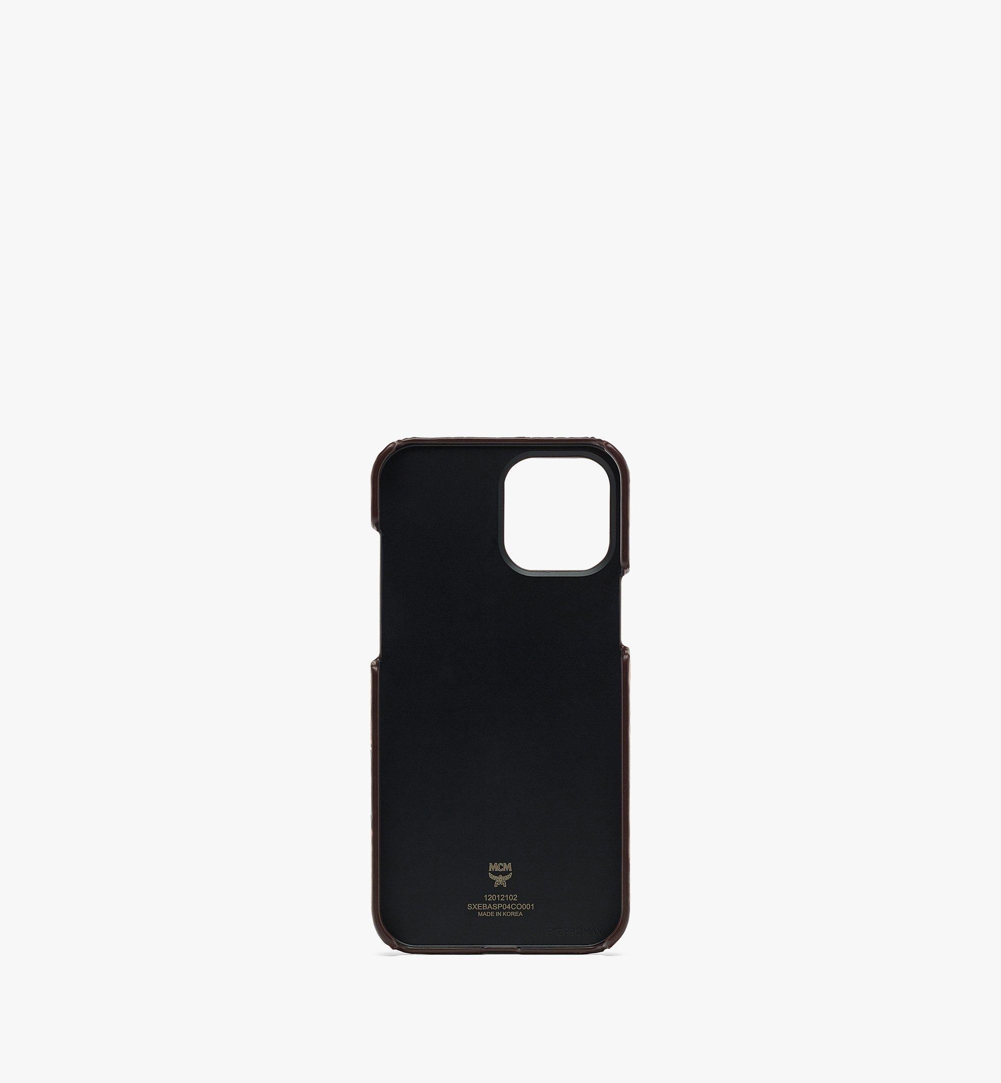 MCM MCM x SAMBYPEN iPhone 12 Pro Max 手機保護套 Cognac MXEBASP04CO001 更多視圖 1