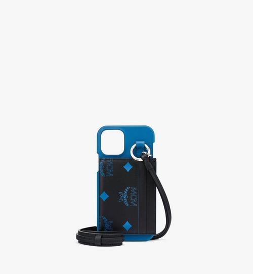 Coque d'iPhone 12/12Pro avec lanière et porte-cartes