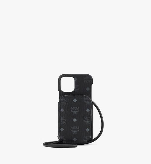 지퍼 포켓이 장착된 비세토스 오리지널 iPhone 12/12 Pro 케이스