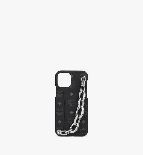 iPhone 12/12 Proケース チェーンハンドル付き カード スロット付き