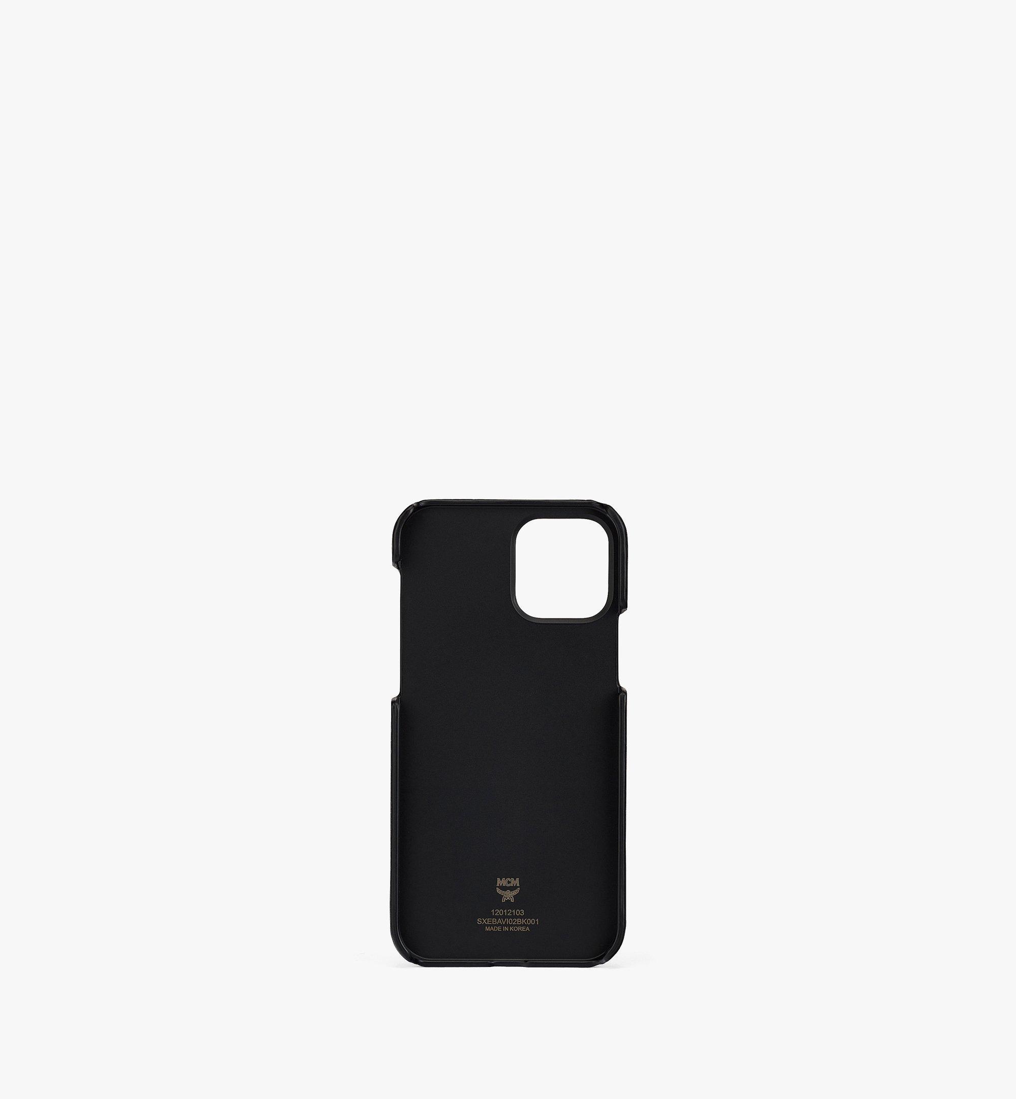 MCM iPhone 12/12 Proケース チェーンハンドル付き カード スロット付き Black MXEBAVI02BK001 ほかの角度から見る 1